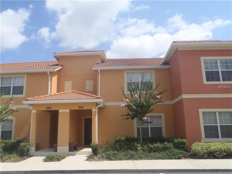 Paradise Palms Resort Furnished 4BR Townhouse with Private Pool - Kissimmee - Orlando $219,500
