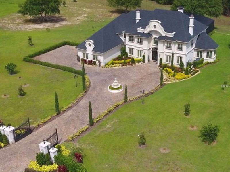 French Chateau For Sale at Savanna Ridge - Winter Garden - $2,995,000